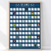 100-bucket-list-games-scratch-off-poster