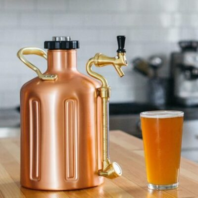 GrowlerWerks Copper Mini Keg