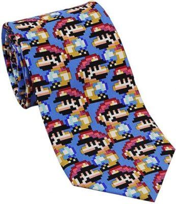 8-Bit Mario Tie