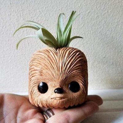 Chewbacca Mini Planter