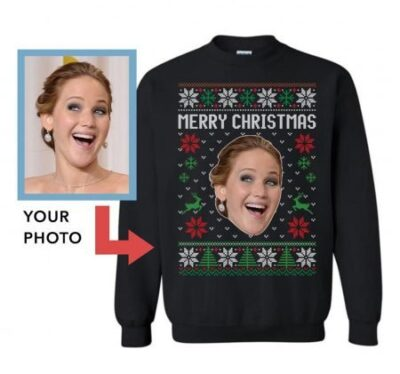 Personalized Face Ugly Christmas Sweater