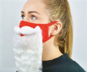 Safe Santa Face Masks
