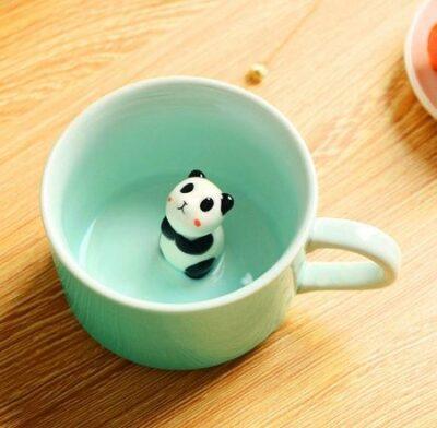 Coffee Mug Cute Animal Inside