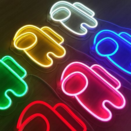 Among Us Neon Lights