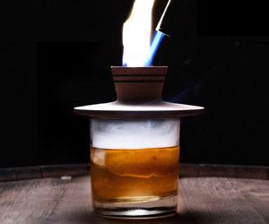 Cocktail Smoking Chimney