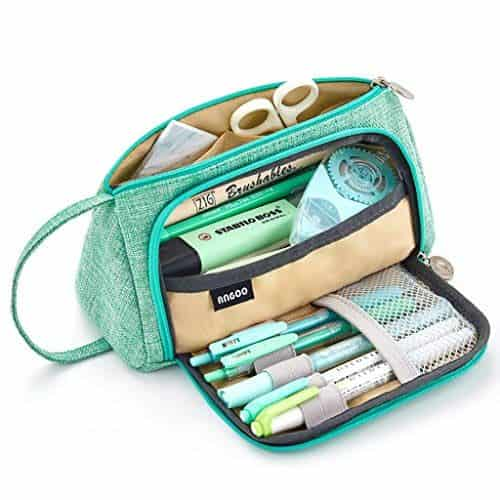 EASTHILL Large Capacity Pencil Case Pen Bag Pouch Holder