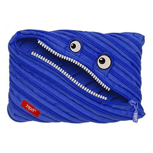 ZIPIT Monster Big Pencil Case, Royal Blue