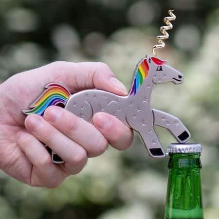 Unicorn Bottle Opener & Corkscrew