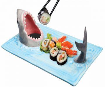 Shark Attack Sushi Serving Platter