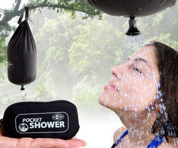 Lightweight Pocket Shower