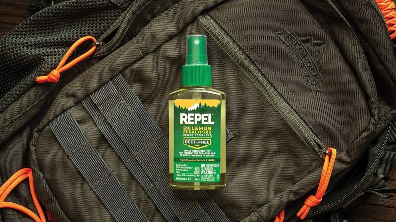 plant-based insect repellent